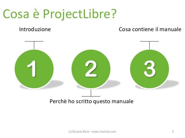 ProjectLibre - Manuale in Italiano dell'alternativa OpenSource a Microsoft Project Slide 2