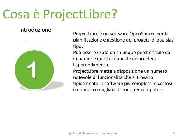 ProjectLibre - Manuale in Italiano dell'alternativa OpenSource a Microsoft Project Slide 3