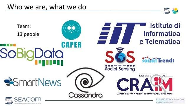 Social Media Intelligence using Elasticsearch & Kibana Slide 2