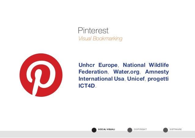 SOFTWARECOPYRIGHTSOCIAL VISUALI Unhcr Europe, National Wildlife Federation, Water.org, Amnesty International Usa, Unicef, ...