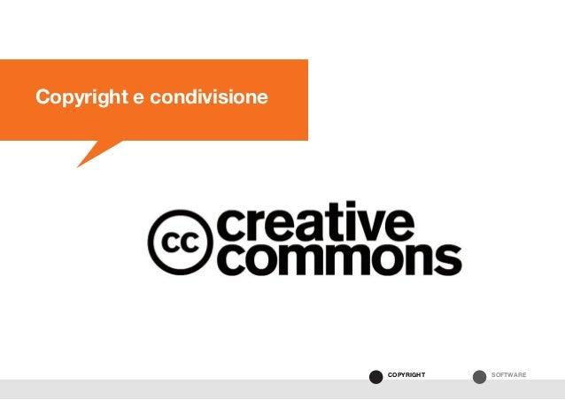 SOFTWARECOPYRIGHT Copyright e condivisione