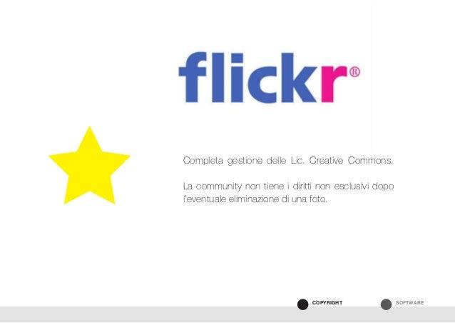 SOFTWARECOPYRIGHT Completa gestione delle Lic. Creative Commons. La community non tiene i diritti non esclusivi dopo l'eve...