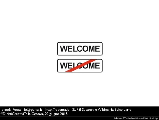 © Tsesler &Voichenko,Welcome, Minsk, Road sign. Iolanda Pensa - io@pensa.it - http://iopensa.it - SUPSI Svizzera e Wikiman...