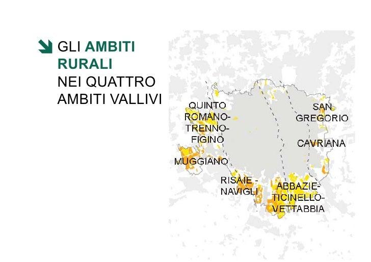VALORIZZARE IL PAESAGGIO AGRARIO MILANESE