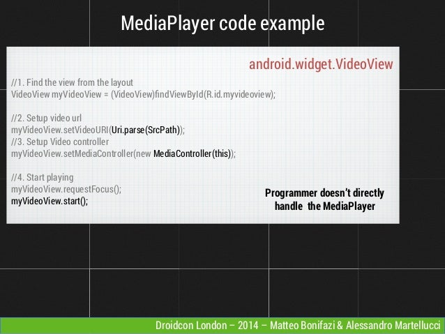 Video Streaming: from the native Android player to