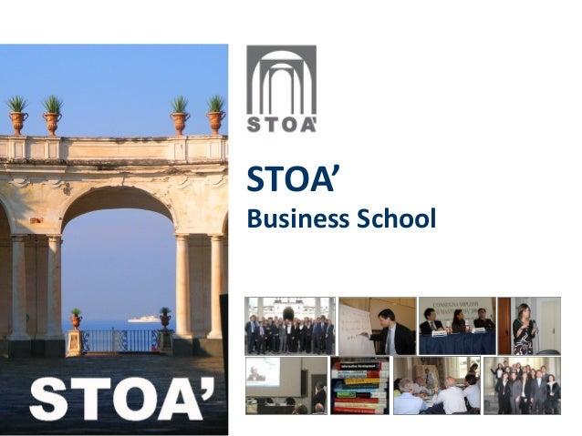 STOA' Business School