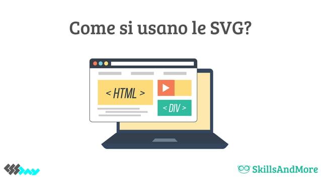 Come si usano le SVG?