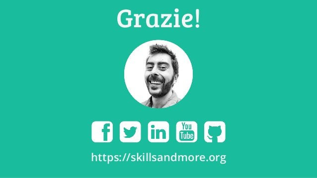 Grazie! https://skillsandmore.org