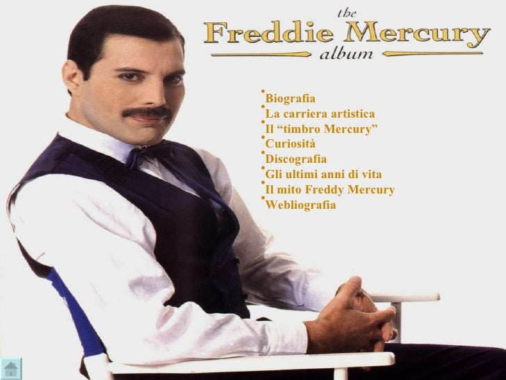 """<ul><li>Biografia </li></ul><ul><li>La carriera artistica </li></ul><ul><li>Il """"timbro Mercury"""" </li></ul><ul><li>Curiosit..."""