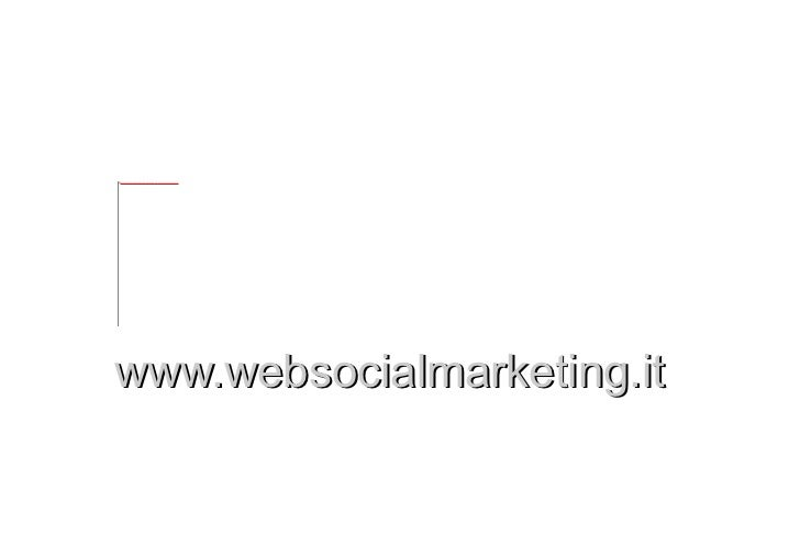 Web Social Marketing Firenze