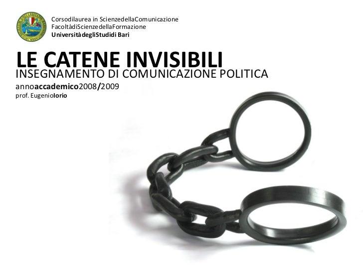 Corsodilaurea in ScienzedellaComunicazione             FacoltàdiScienzedellaFormazione             UniversitàdegliStudidi ...