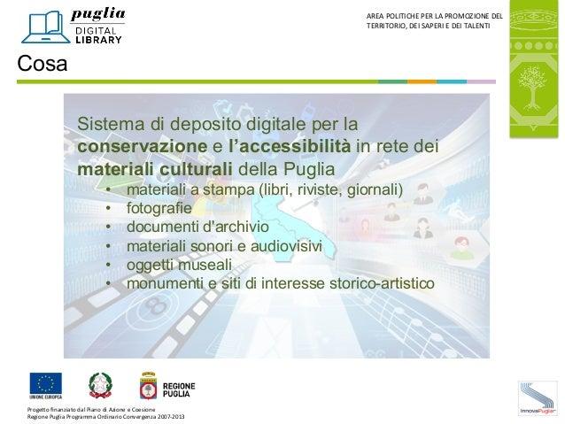 Puglia Digital Library - M.A. Apollonio Slide 2