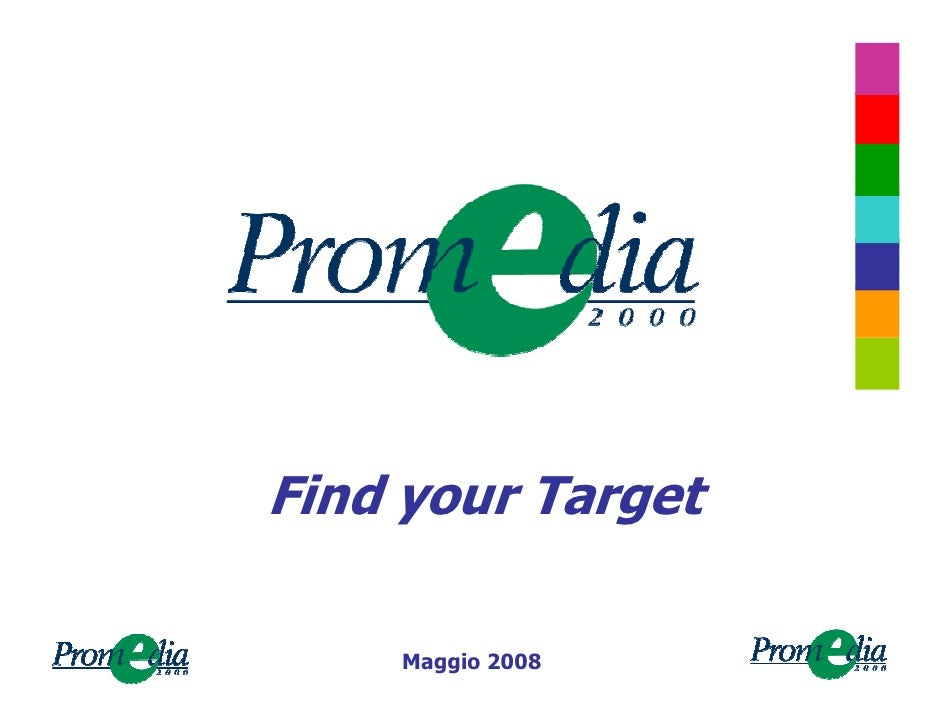 Find your Target      Maggio 2008