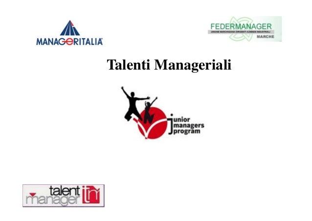 Talenti Manageriali