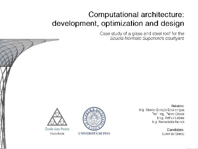 computational geometry + thesis Computational geometry emerged from the eld of algorithms design and analysis in the late 1970s it has grown into a recognized discipline with its own journals, conferences, and a large community of active researchers the.