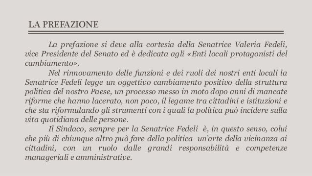 """Presentazione de """"Il Sindaco di tutti - Come gestire il Comune per un successo durevole"""" Slide 3"""