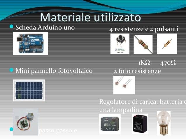Schema Elettrico Per Inseguitore Solare : Inseguitore solare