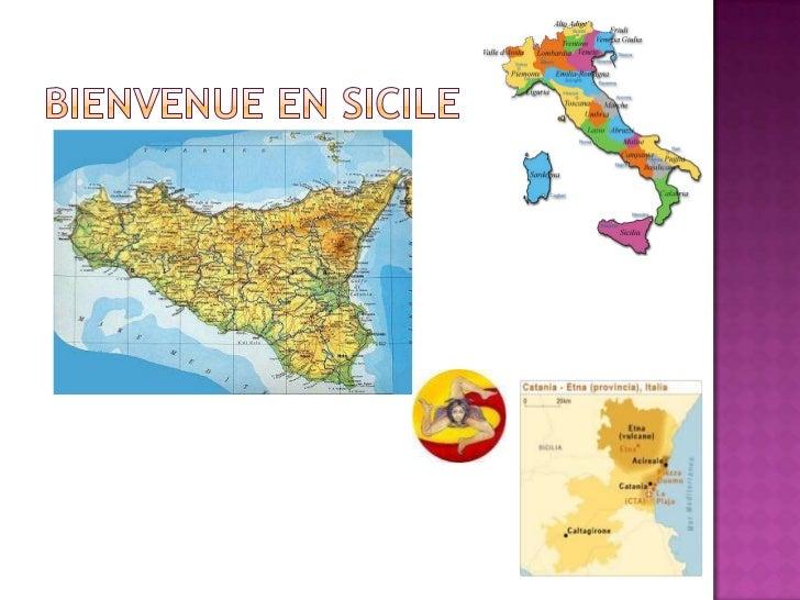 Bienvenue en Sicile<br />