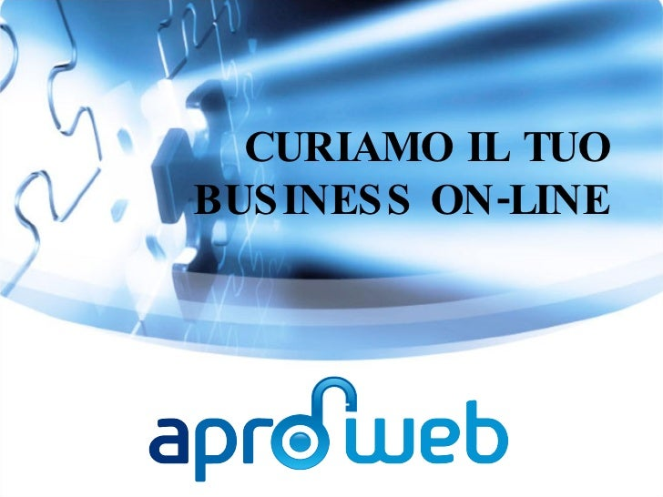 CURIAMO IL TUO BUSINESS ON-LINE