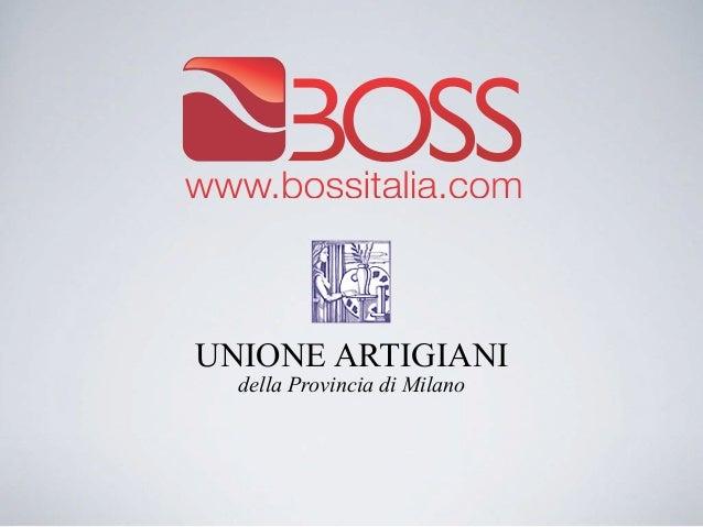 UNIONE ARTIGIANI  della Provincia di Milano