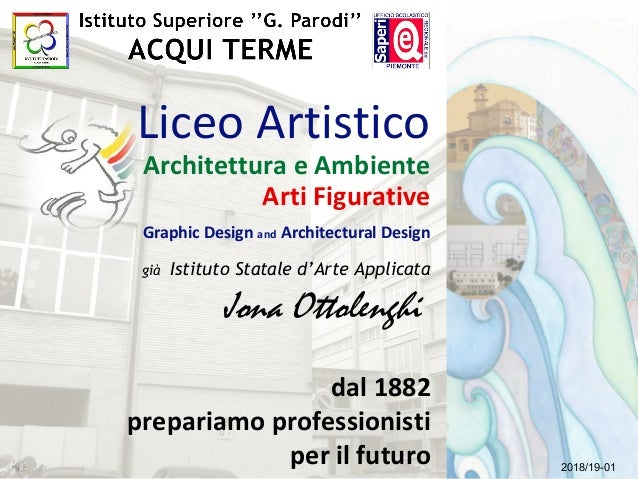Liceo Artistico Architettura e Ambiente Arti Figurative Graphic Design and Architectural Design già Istituto Statale d'Art...