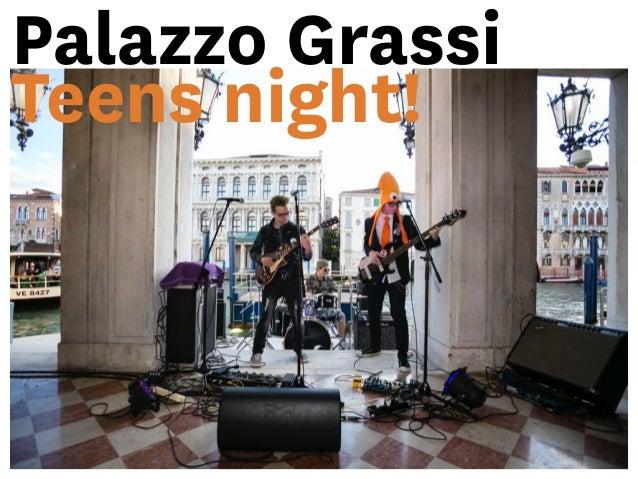 Presentazione del programma Palazzo Grassi Teens ad ArtLab 2015