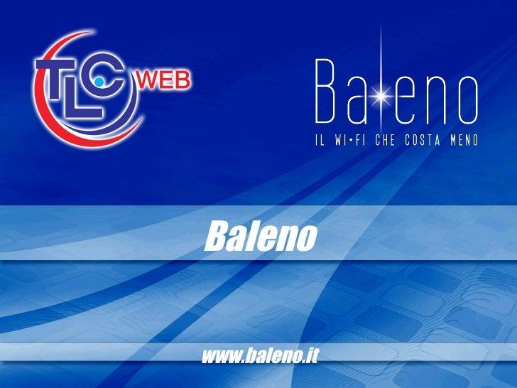 Baleno www.baleno.it