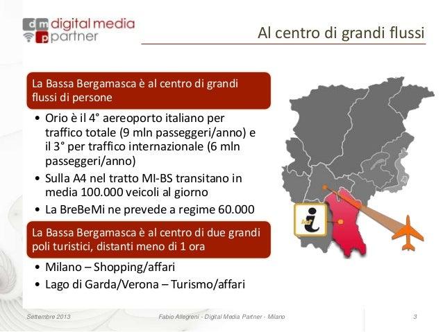 Comunicazione turistica per un territorio in provincia di Bergamo Slide 3