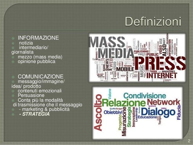 Comunicazione d'impresa base - aggiornamento Slide 2