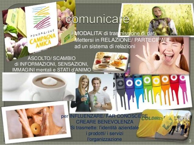 Comunicazione d'impresa base - aggiornamento Slide 3