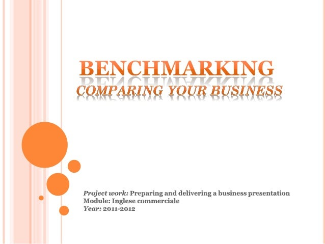 3 POINTS:1.    About benchmarking2.    Focus on benchmarking3.    A real case history                              209/03/...