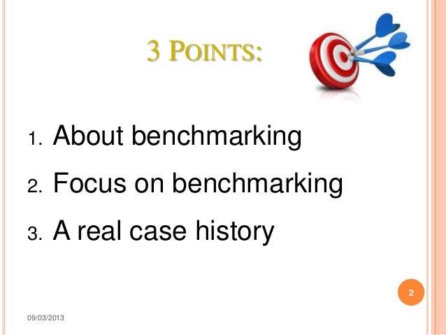 Presentazione benchmarking laura_cafaro Slide 2