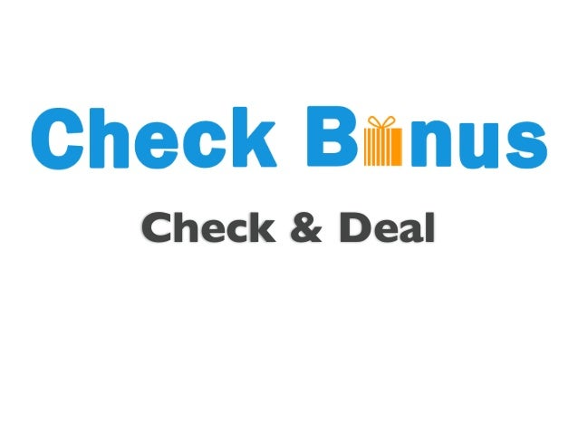Check & Deal