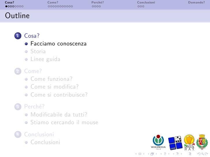Wikipedia - Presentazione Cinisello Slide 3