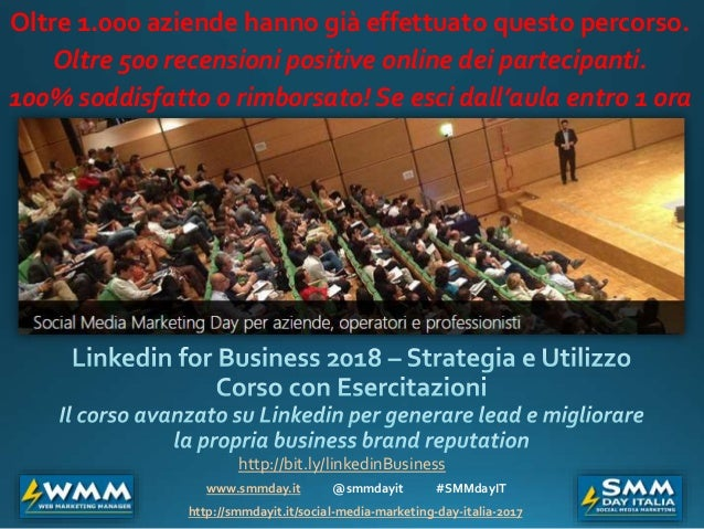 www.smmday.it @smmdayit #SMMdayIT http://smmdayit.it/social-media-marketing-day-italia-2017 Oltre 1.000 aziende hanno già ...