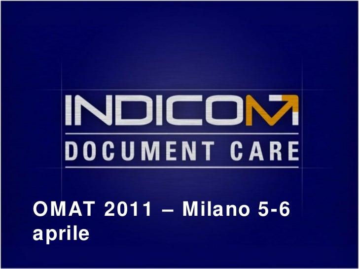 OMAT 2011 – Milano 5-6 aprile