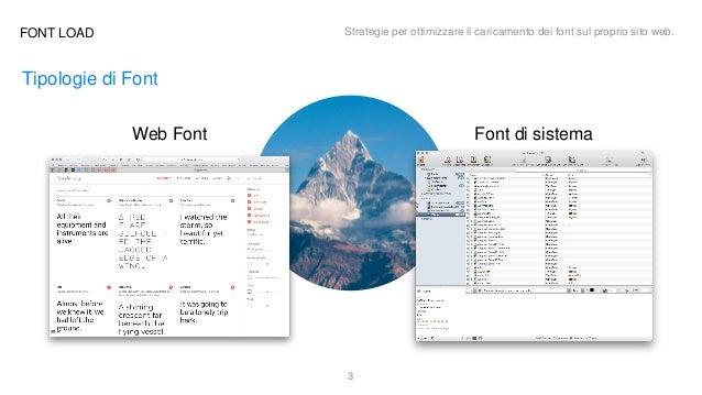 FONT LOAD: strategie per ottimizzare il caricamento dei font sul proprio sito Slide 3