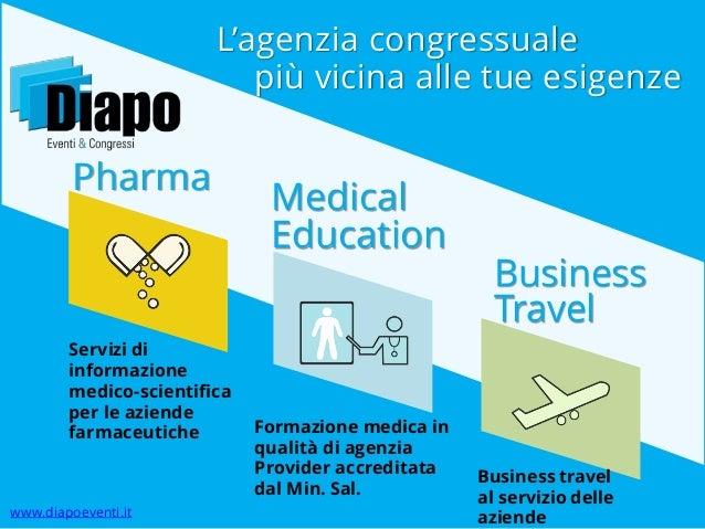 L'agenzia congressuale più vicina alle tue esigenze  Pharma  Servizi di informazione medico-scientifica per le aziende far...