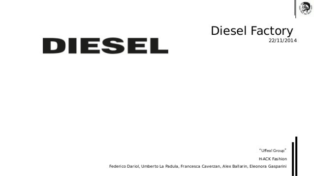 "Diesel Factory  22/11/2014  ""Uffeal Group""  H-ACK Fashion  Federico Dariol, Umberto La Padula, Francesca Caverzan, Alex Ba..."