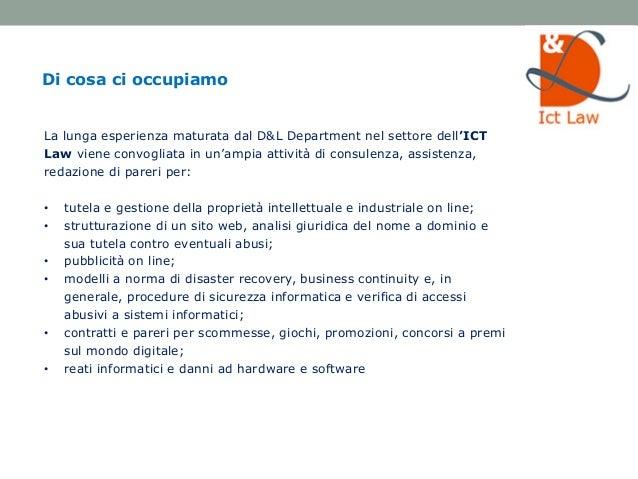 Digital & Law Department - Studio Legale Lisi