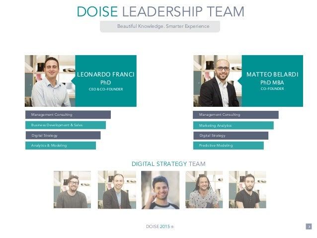 Presentazione Doise Digital Strategy Slide 2
