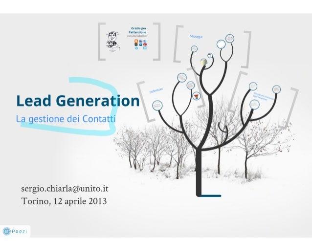 Presentazione E-commerce Day 12/4/2013