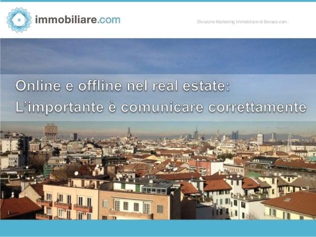 Divisione Marketing Immobiliare di Boraso.com