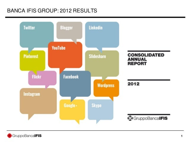 BANCA IFIS GROUP: 2012 RESULTS                                 1