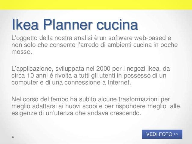 Test di usabilit dell 39 applicazione web ikea planner cucina - Planner ikea cucina ...