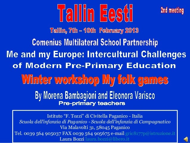 """Istituto """"F. Tozzi"""" di Civitella Paganico - Italia  Scuola dell'infanzia di Paganico - Scuola dell'infanzia di Campagnatic..."""