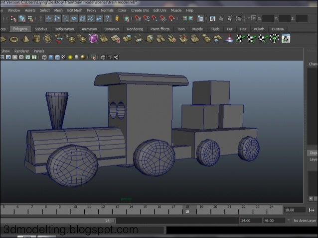 Introduction to 3D Modelling