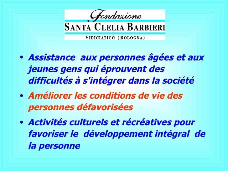 Presentazione fondazione santa_clel Slide 3