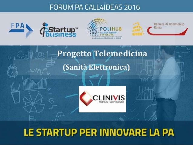 Progetto Telemedicina (Sanità Elettronica)