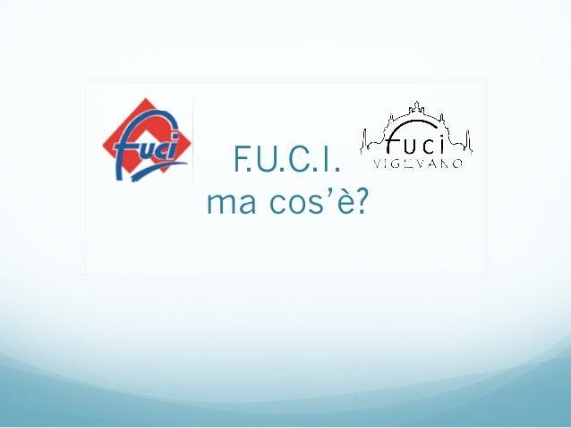 F.U.C.I. ma cos'è?